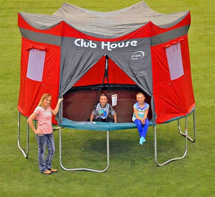 best trampoline spring cover