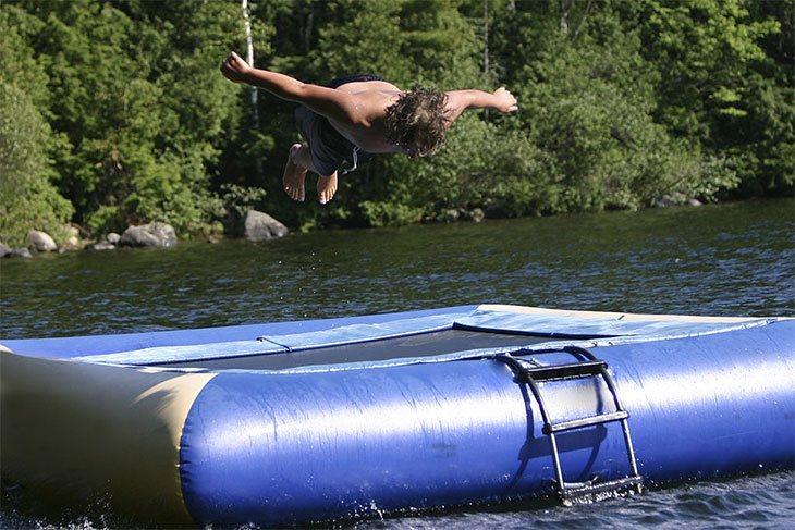 water trampoline best price
